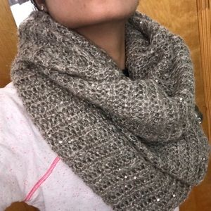 H&M Sequin Infinity Scarf